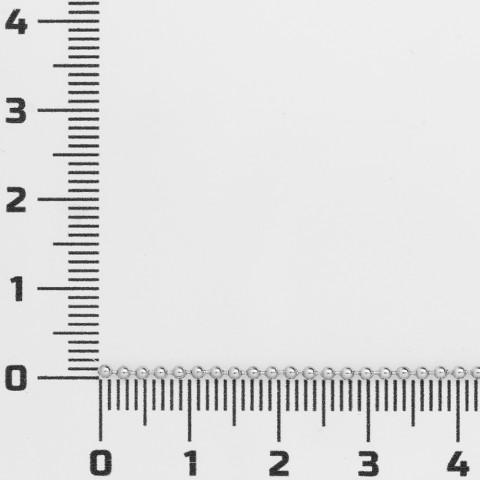 Catena a Pallina ø 1,5mm in Acciaio Inossidabile 10mt Naturale
