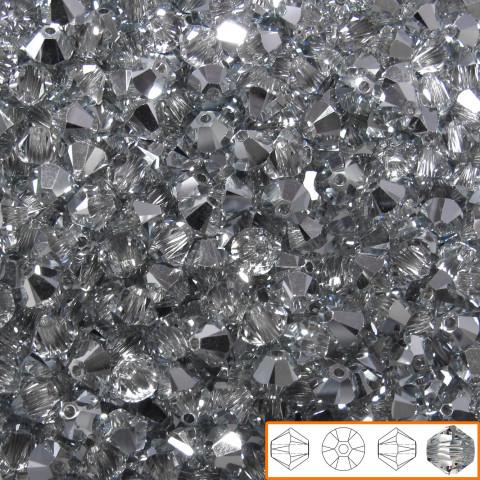 Bicono Swarovski 4 mm - 144 pz Crystal Cal