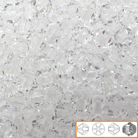 Bicono Swarovski 6 mm - 60 pz Crystal