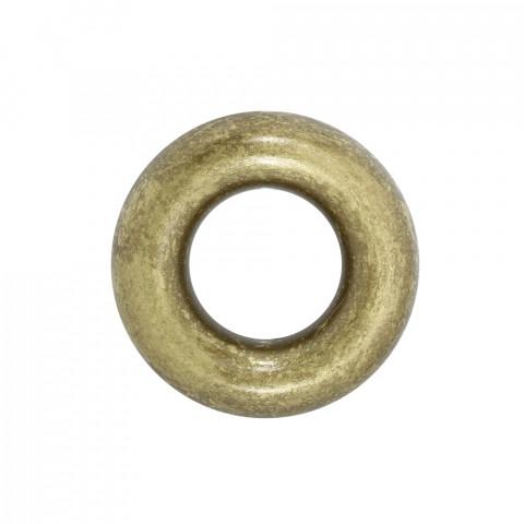 Ciambella in Resina 70mm f.33mm ~6pz 250gr Spazzolato Oro
