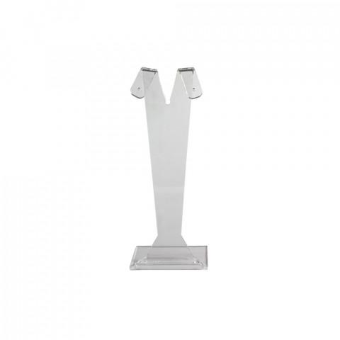 Espositore Orecchini Coniglio Plexi H15cm (13 dal foro)*** Trasparente