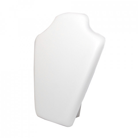 Espositore per Collana Ecopelle - L22 x H28 cm - 2pz Bianco