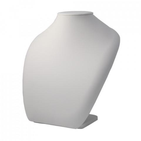 Espositore per Collana in Ecopelle 1° Qualità L28xH32xP13cm 1pz Bianco
