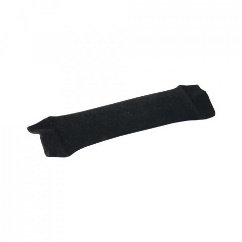 Espositore Salsicciotto per Anelli Floccato 12 cm - 10 pz Nero