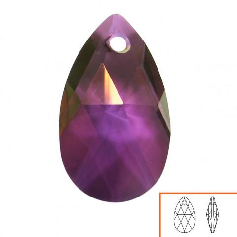 Goccia Pendente Swarovski 22 mm - 4 pz Crystal Lilac Shadow