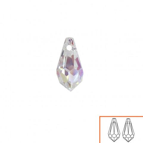 Goccia Swarovski (6000) 11x5,5 mm - 12 pz Crystal AB