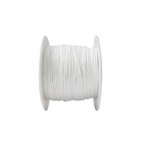 Laccio con Ceratura Naturale ø1mm 100mt Bianco