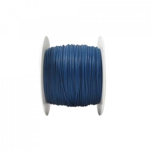 Laccio con Ceratura Naturale ø1mm 100mt Blu