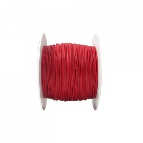 Laccio con Ceratura Naturale ø1mm 100mt Rosso