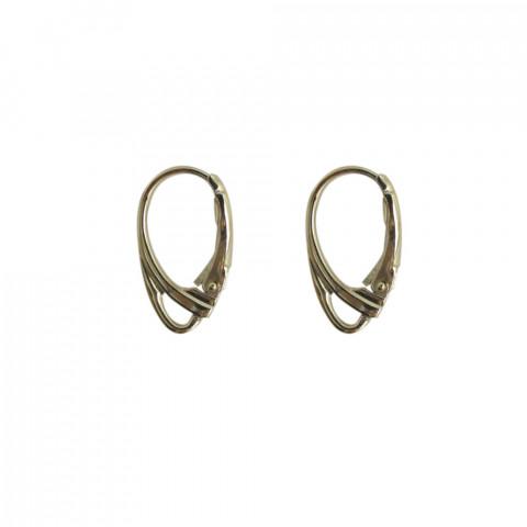 Monachina Chiusa 20mm c/anel. in Ottone 20pz Oro Light