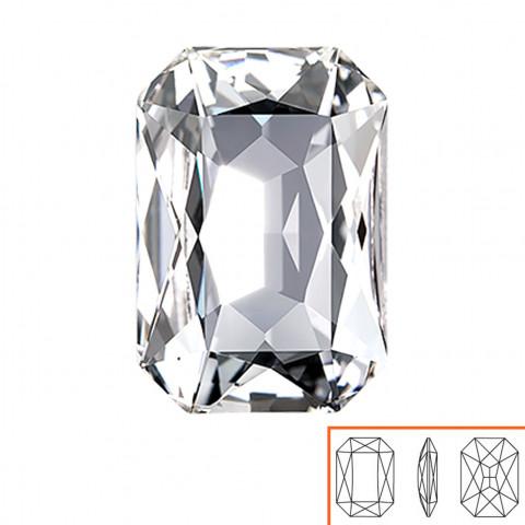 Ottagono Swarovski (4627) 27x18,5 mm - 2 pz Crystal F