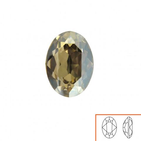 Ovale Swarovski (4120) 18x13 mm - 8 pz Crystal Golden Shadow F