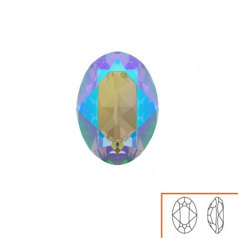 Ovale Swarovski (4120) 18x13 mm - 8 pz Crystal Paradise Shine F