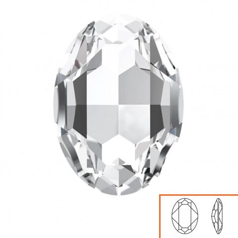 Ovale Swarovski (4127) 30x22 mm - 2 pz Crystal F