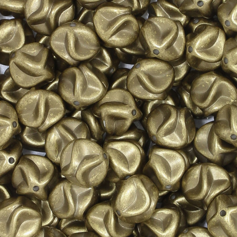 Pallina Sagomata in Resina 15mm f.1,8mm ~178pz 250gr Spazzolato Oro