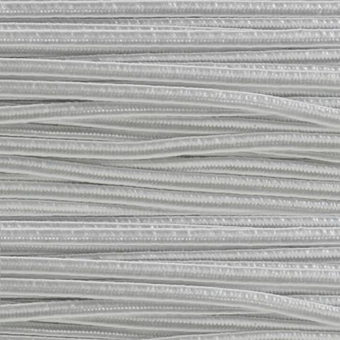 Piattina Soutache -  H3 mm - 20 mt Bianco
