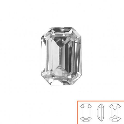 Rettangolo Swarovski (4610) 18x13 mm - 8 pz Crystal F
