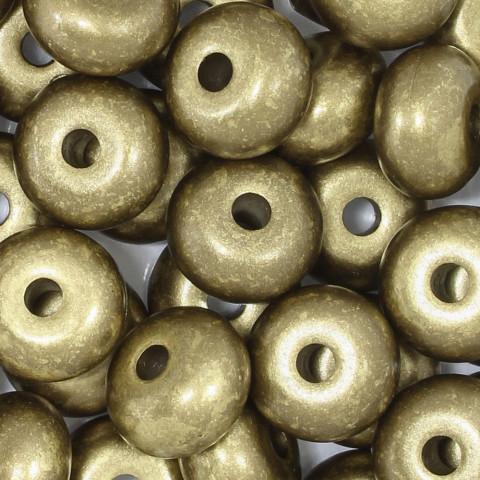 Rondella in Resina 23mm f.5,8mm ~54pz 250gr Spazzolato Oro
