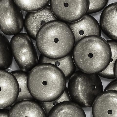 Rondella in Resina 23mm h15mm f.2,6mm ~48pz 250gr Spazzolato Argento