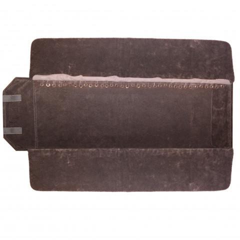 Rotolo per Bracciale 35 Anelli H25 X L80cm-Tortora Interno Testa di Moro