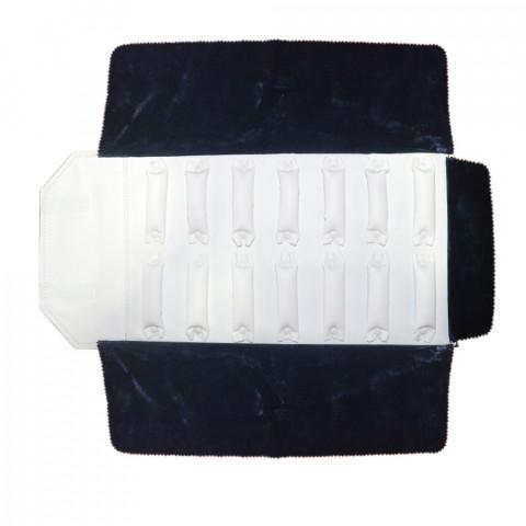 Rotolo per Ciondoli 60 Anelli  H25XL78cm- Blu Interno Bianco