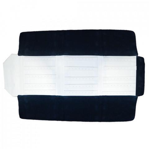 Rotolo per Orecchini 60 Paia H25 X L80cm-Blu Interno Bianco