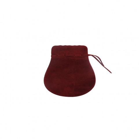 Sacchetto Alcantara 2° Mis. L5,5xH9xP7cm-12 pz Bordeaux