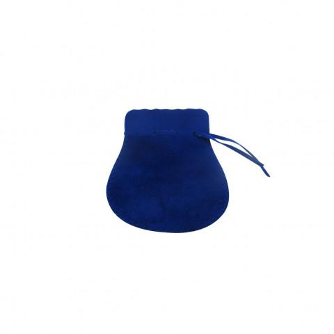 Sacchetto Alcantara 2° Mis. L5,5xH9xP7cm-12 pz Zaffiro