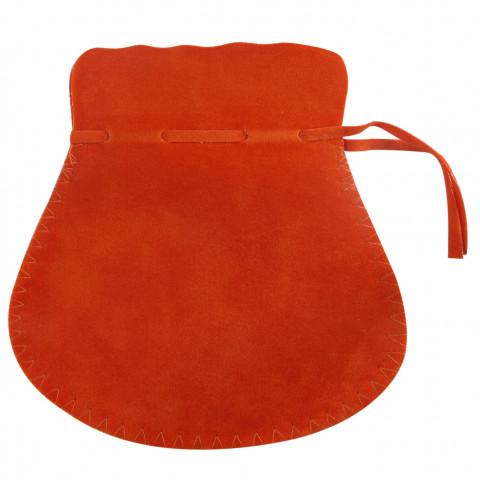 Sacchetto Alcantara 7° Mis. L15xH19,5xP15,5cm- 6pz Arancione