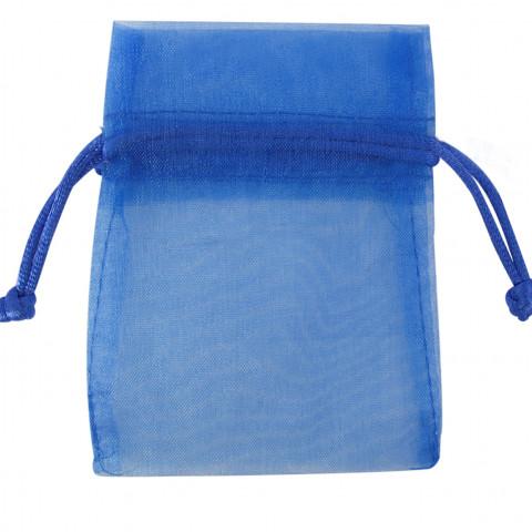 Sacchetto in Organza 5° Mis. - L20xH28xP20 cm - 12 pz Blu Scuro