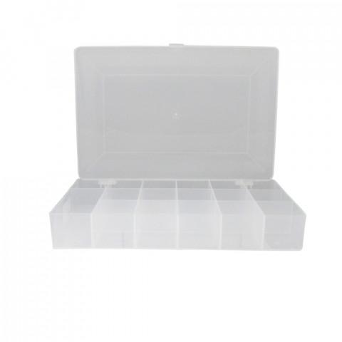 Scatola Organizer - L18,5xP27,5xH4,5 cm- con 17 Scomparti