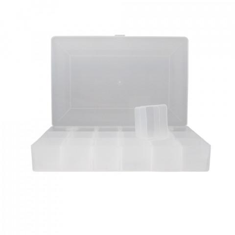 Scatola Organizer - L18,5xP27,5xH4,5cm - con 18 Vaschette Estraibili