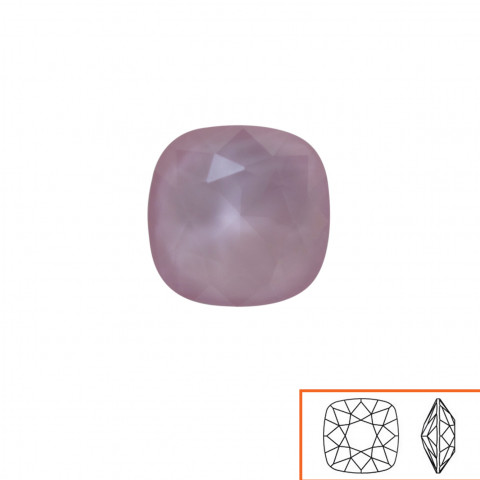 Square Swarovski (4470) 10 mm - 12 pz Crystal Powder Rose