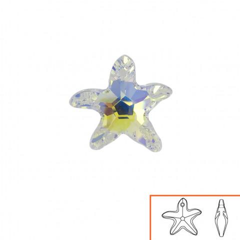 Stella Marina (6721) 16 mm - 8 pz Crystal AB