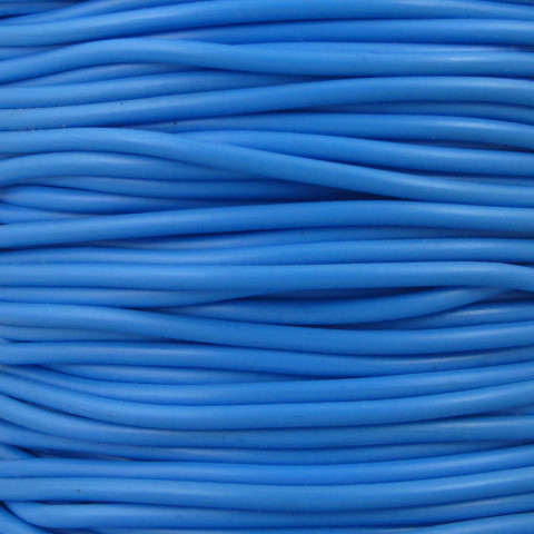 Tondino PVC - ø 2 mm - 100mt Azzurro