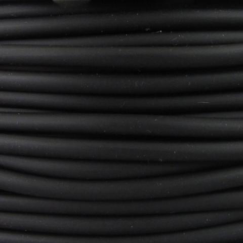Tondino PVC - ø 4 mm - 30mt Nero