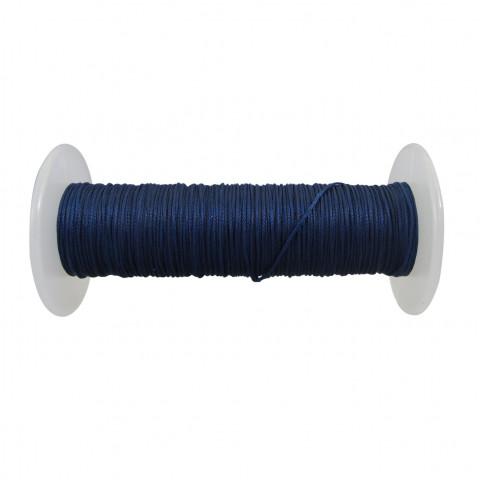 Treccia Semicerata - ø 0,8 mm - 100 mt Blu