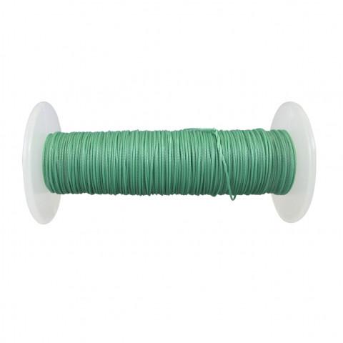 Treccia Semicerata - ø 0,8 mm - 100 mt Verde Tiffany